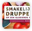 Vegetarian cookbook 'Smakelijke druppels op een gloeiende plaat'