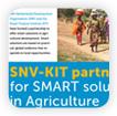 Communicatie-uitingen SNV/KIT samenwerking